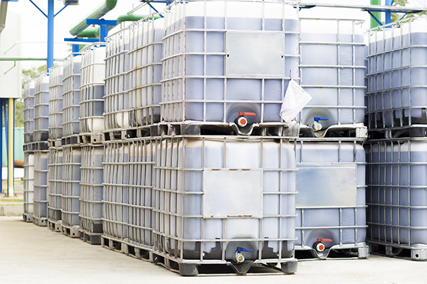 Chemical Plant Plastic Storage Drums Big Barrels